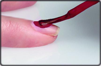Как правильно наносить цветной гель-лак