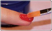 Мастер класс укрепление ногтей мягкими гелями Illusion