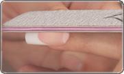 Видео коррекция акриловых ногтей