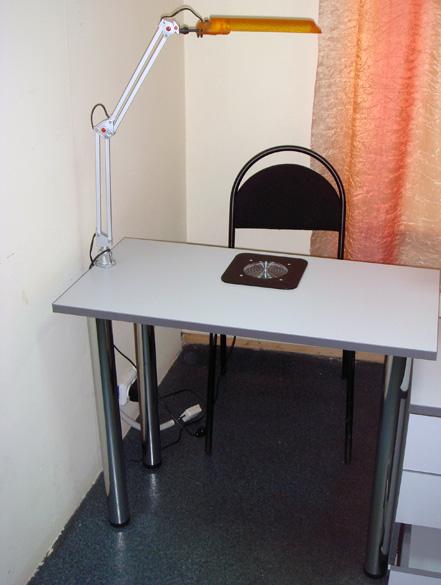 Как сделать маникюрный стол с вытяжкой своими руками 12